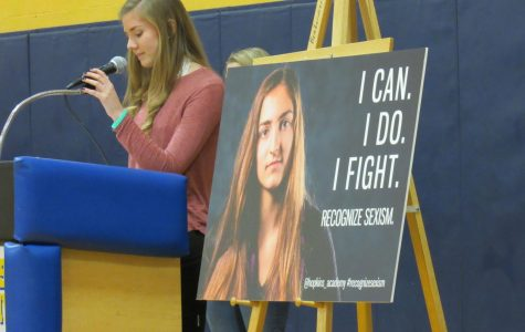 Students Drive Change through #recognizesexism Campaign